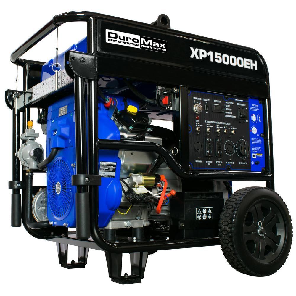 Duromax 12500Watt 713 cc Portable Gasoline / Propane