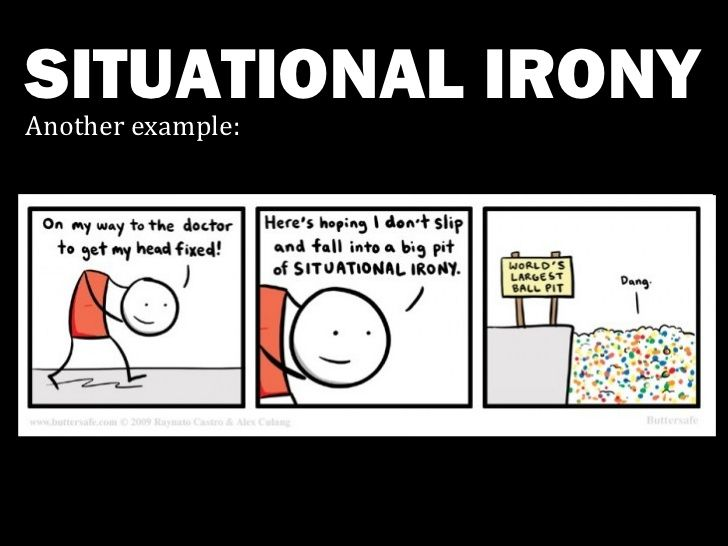 Image Result For Situational Irony Clipart Situational Irony