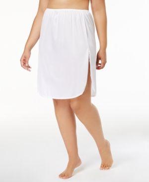 Vanity fair plus sizes daywear solutions half slip white also size chart http dopeshitfo pinterest rh