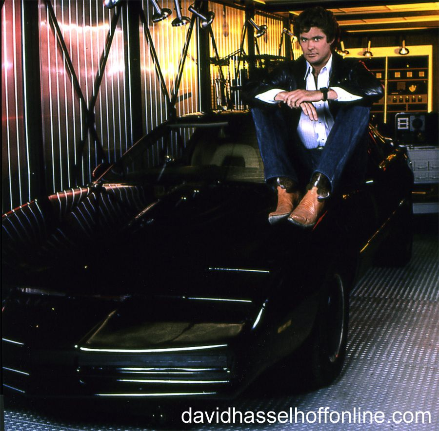 Michael Knight And Kitt In The Truck Knight Rider Super Cars Rider