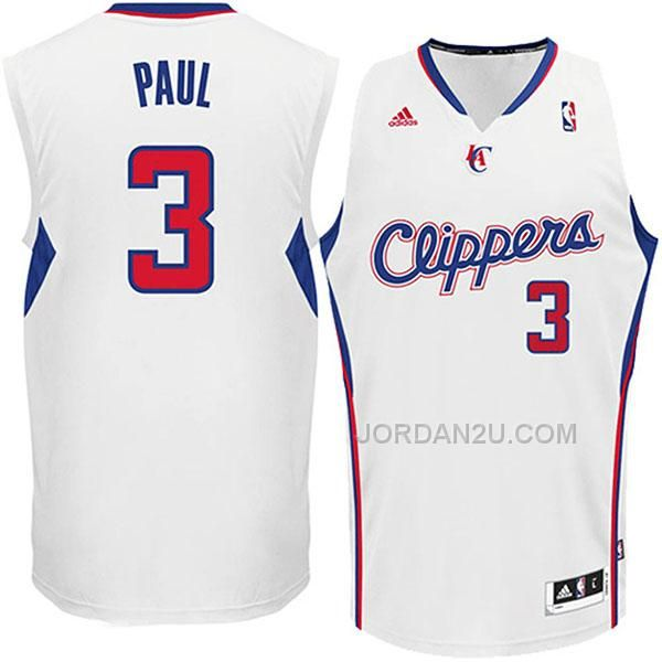 buy chris paul los angeles clippers revolution 30 swingman home white jersey from reliable chris paul los angeles clippers revolution 30 swingman home