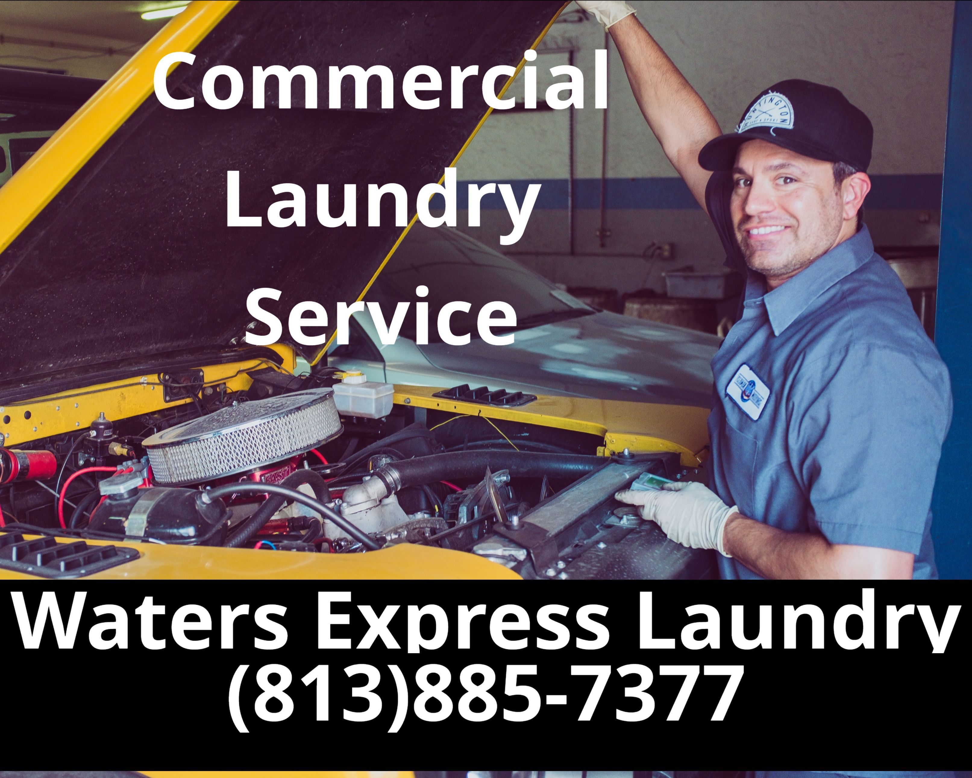 Commercial Laundry Service Waters Express Laundry Center In
