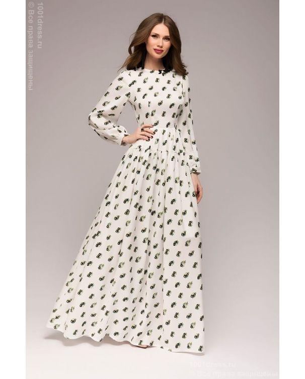 купить красно белое платья