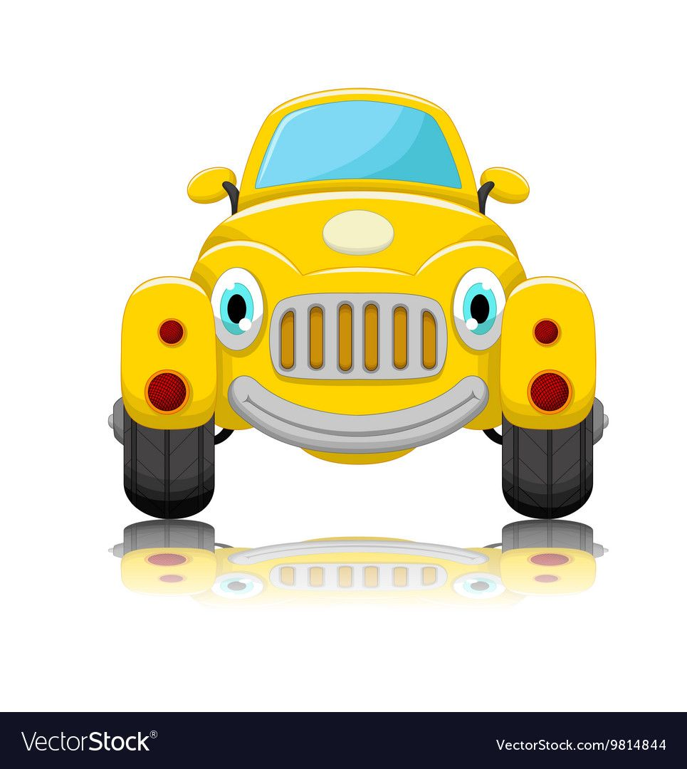 Cute Car Cartoon Vector Image On Cute Cars Car Cartoon Car
