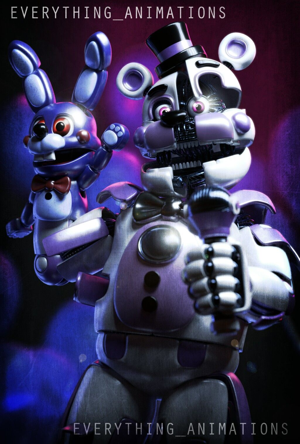 Fnaf Sister Location Funtime Freddy By Everything Animation On