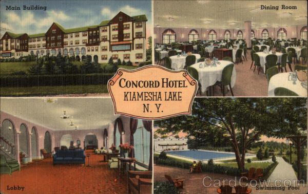 Concord Hotel Kiamesha Lake New York  Favorite Places & Spaces Entrancing Lake Hotel Dining Room Decorating Design