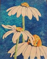 Image result for free motion embroidery  daisy