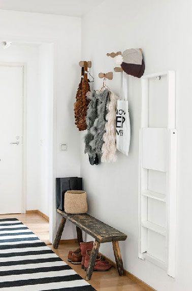 Déco Entrée En 8 Idées Pour Trouver Son Style | Récup, Appartements