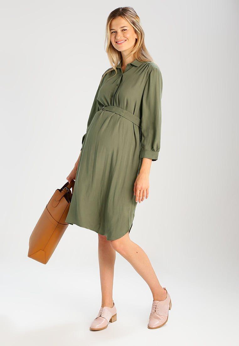 052757807c GAP Maternity BLOUSY SLEEVE - Sukienka koszulowa - desert cactus - Zalando .pl