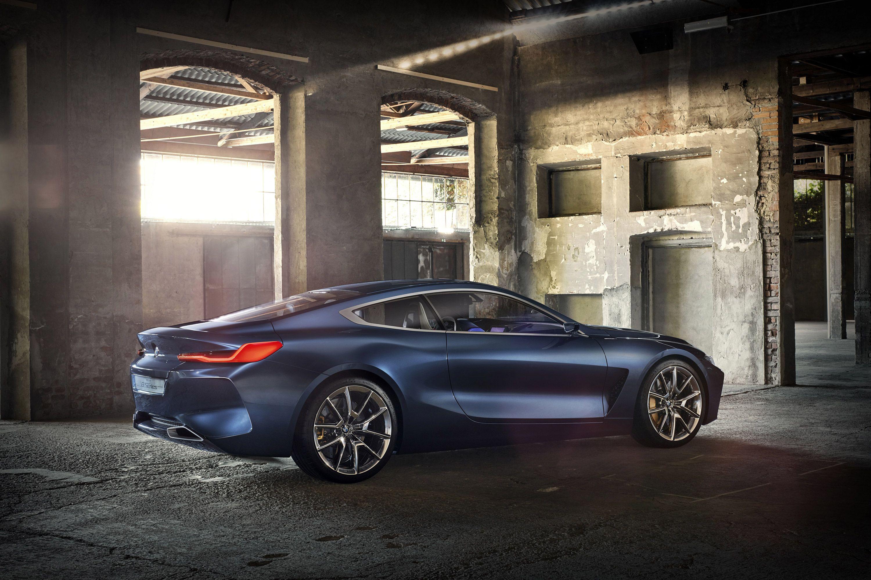 2017 BMW 8 Series Concept V8 2000 3,000×2,000 Pixels