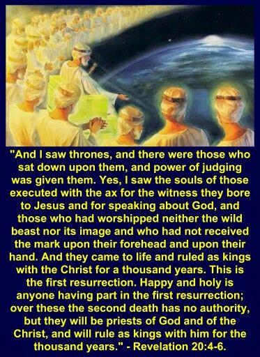 Revelation 20 4 6 Revelation 16 Revelation 20 Book Of Revelation