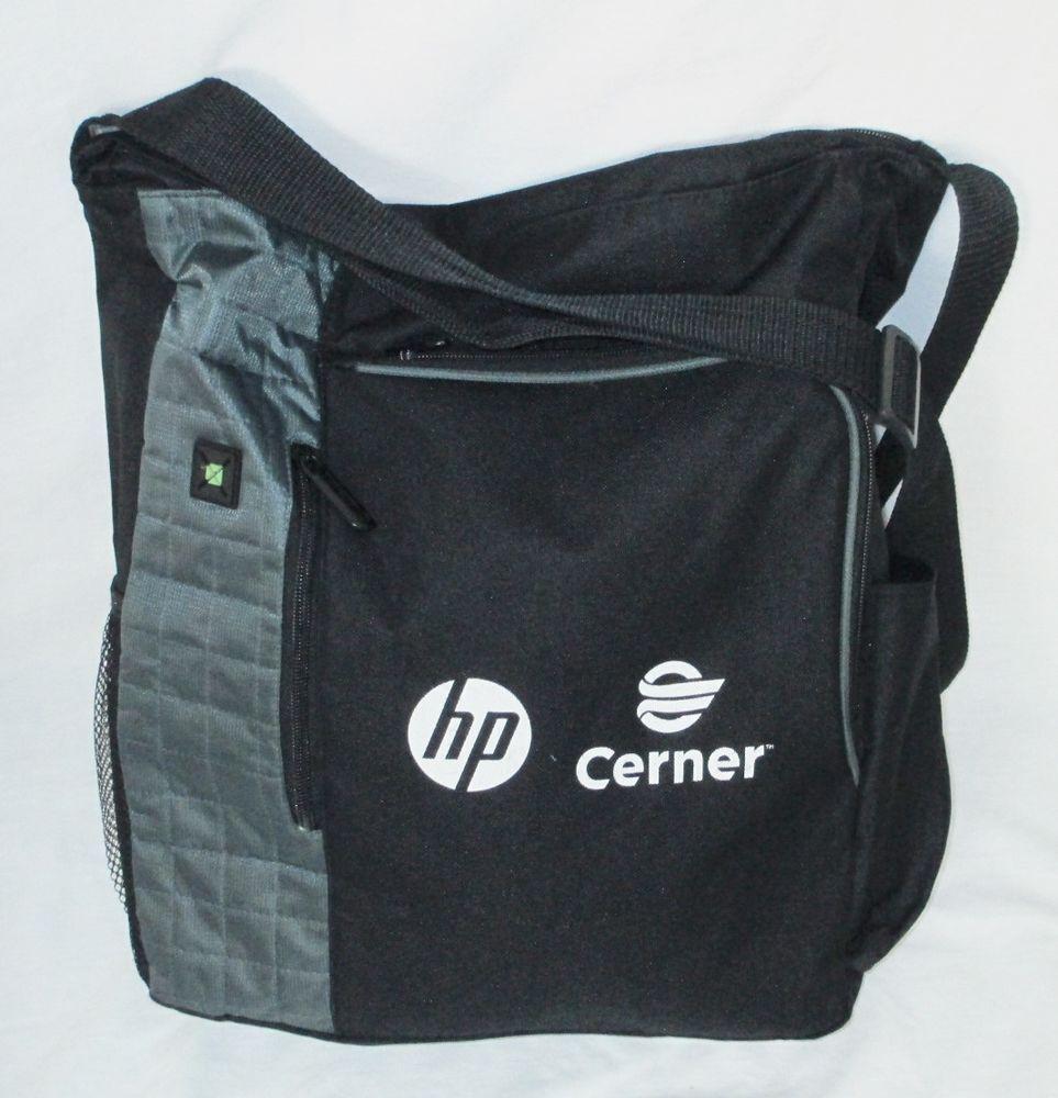 Messenger Bag HP Cerner Logo Leeds Business Travel Luggage