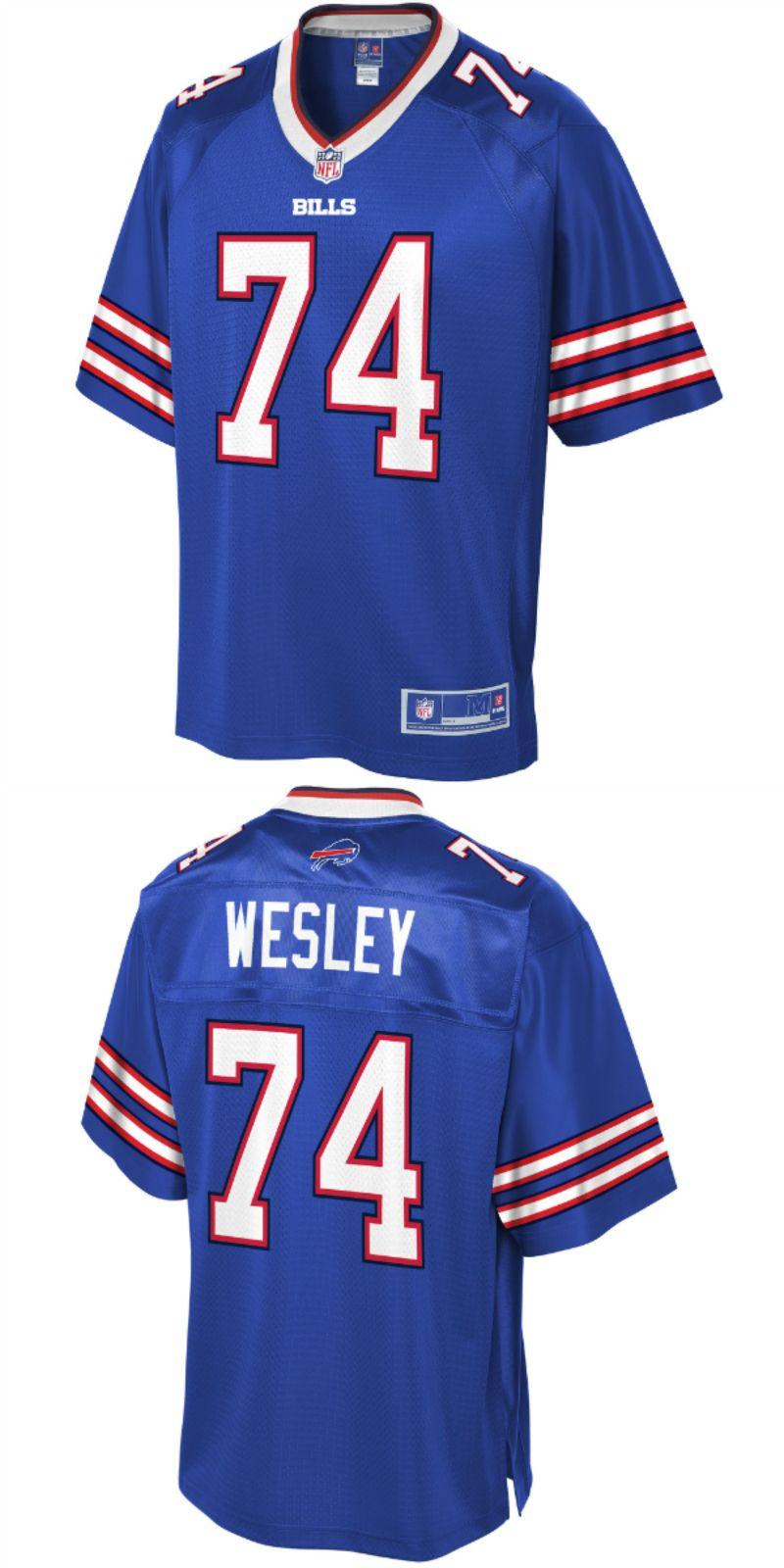 premium selection 531b3 088fa Deon Lacey Buffalo Bills NFL Pro Line Team Color Player ...