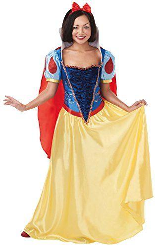Disney Princess Snow White Adult Ladies Fancy Dress Costume.