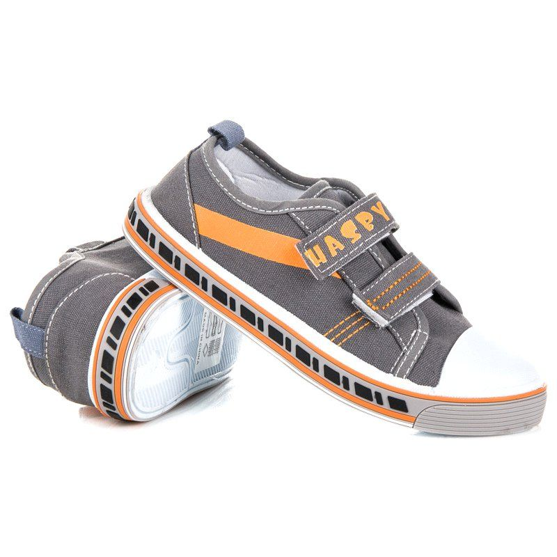 Hasby Szare Trampki Do Szkoly Brooks Sneaker Sneakers Shoes