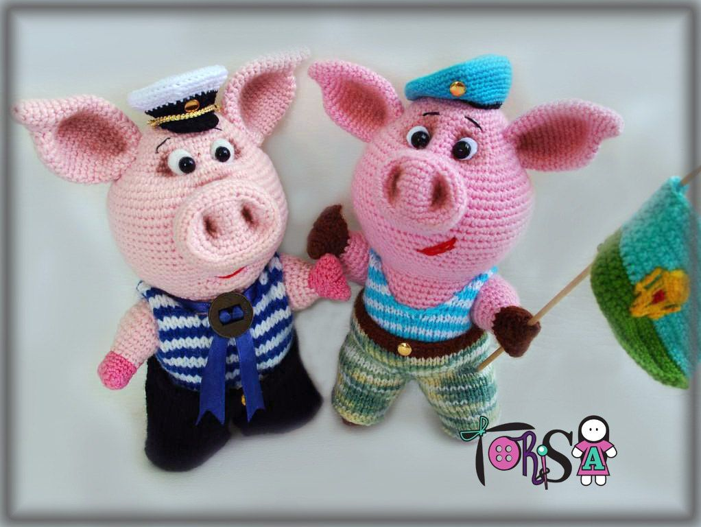 Piglet Amigurumi Free Pattern : Varkentjes on pinterest pigs amigurumi and piglets crochet