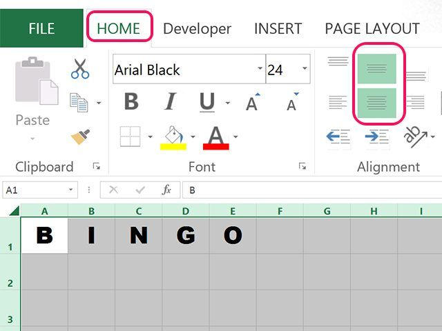 How To Make Bingo Cards In Excel Kennedi 7th Birthday Bingo