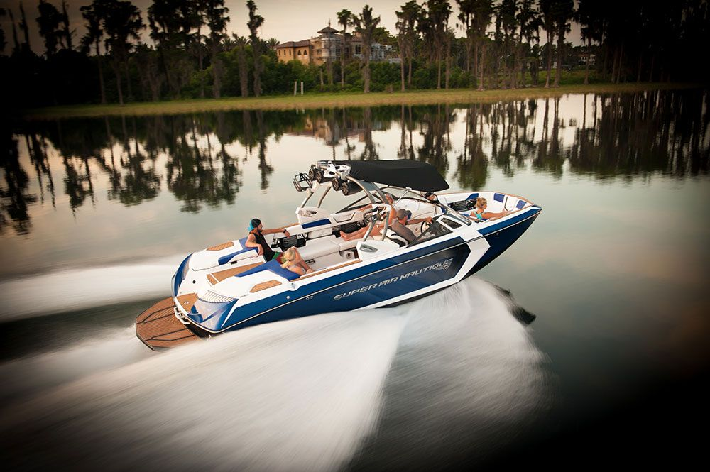 Nautique is giving riders control of the wake in the new