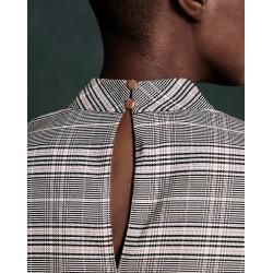 Photo of Checked top with Ted Baker ribbed cuffs