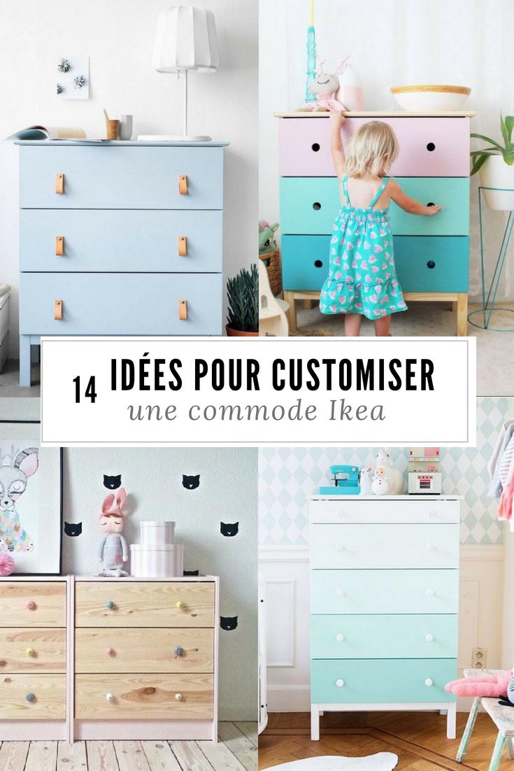 Chambre D Enfant 14 Idees Pour Customiser Une Commode Ikea Commode Ikea Ikea Chambre Enfant Chambre Enfant