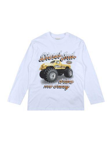 DIESEL Boy's' T-shirt White 16 years