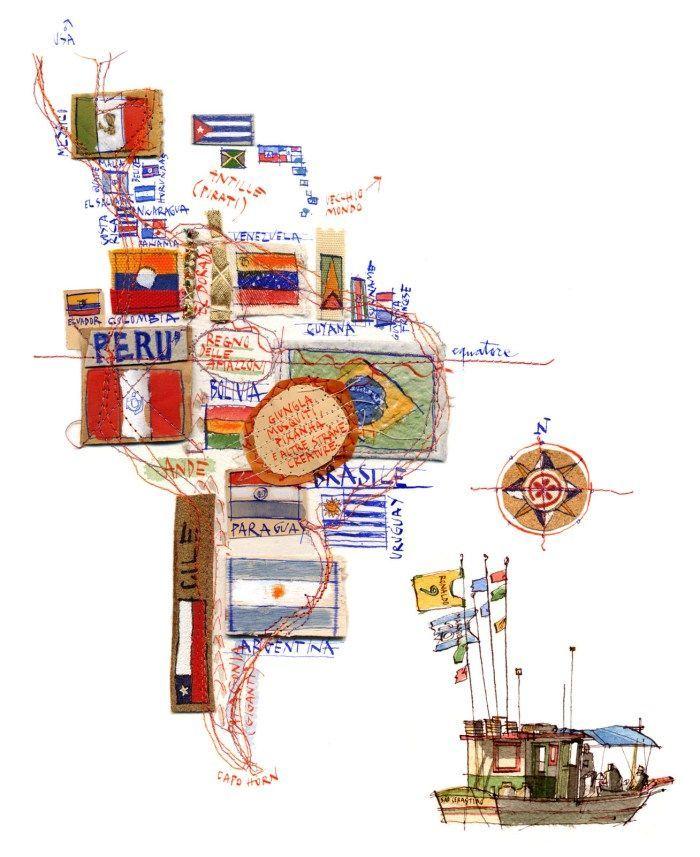Michele Tranquillini - Map of South America