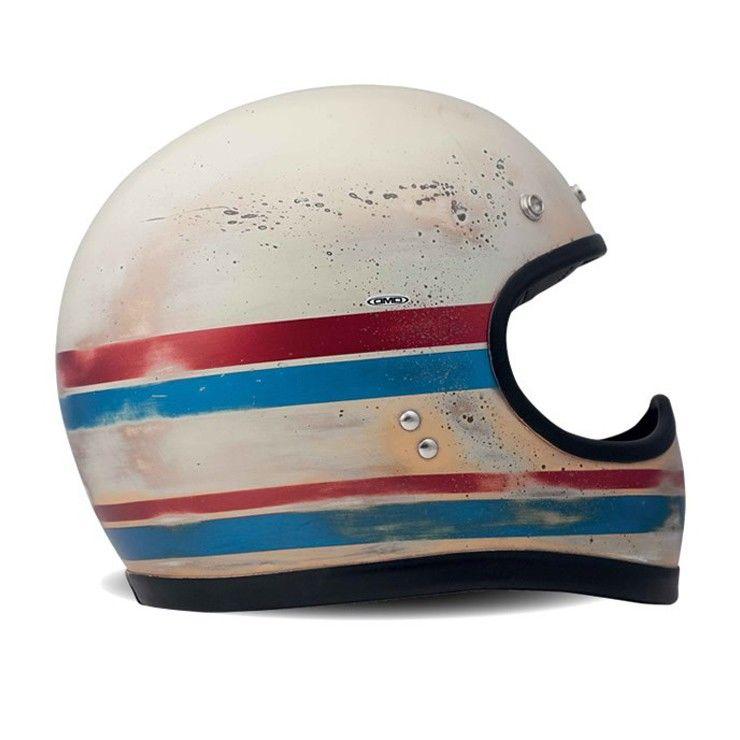 Dmd Racer Helmet Line Bike Exif Equipment In 2020 Retro Helmet Vintage Helmet Helmet