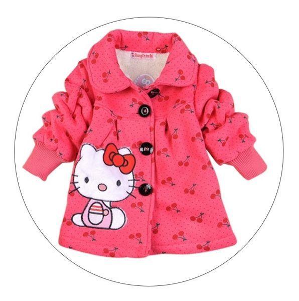 bd7ff21fdc Jaqueta de Algodão Acolchoado – Hello Kitty Nome  Jaqueta de Inverno  Material  Algodão 1