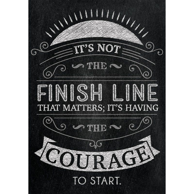 Inspire U Posters Its Not The Finish Line