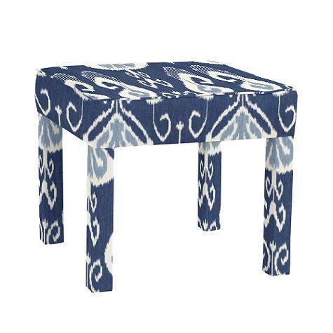 Upholstered Parsons Ottoman | Ballard designs, Ottoman ...