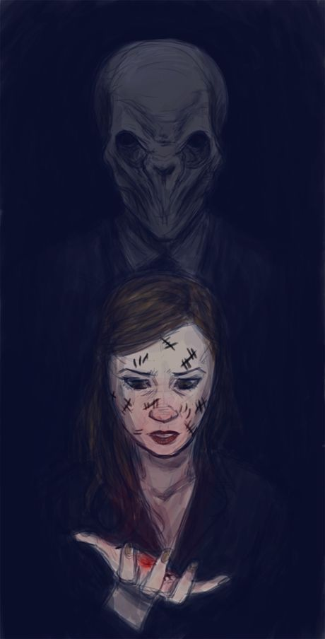 Look behind you. by muffinpoodle on DeviantArt