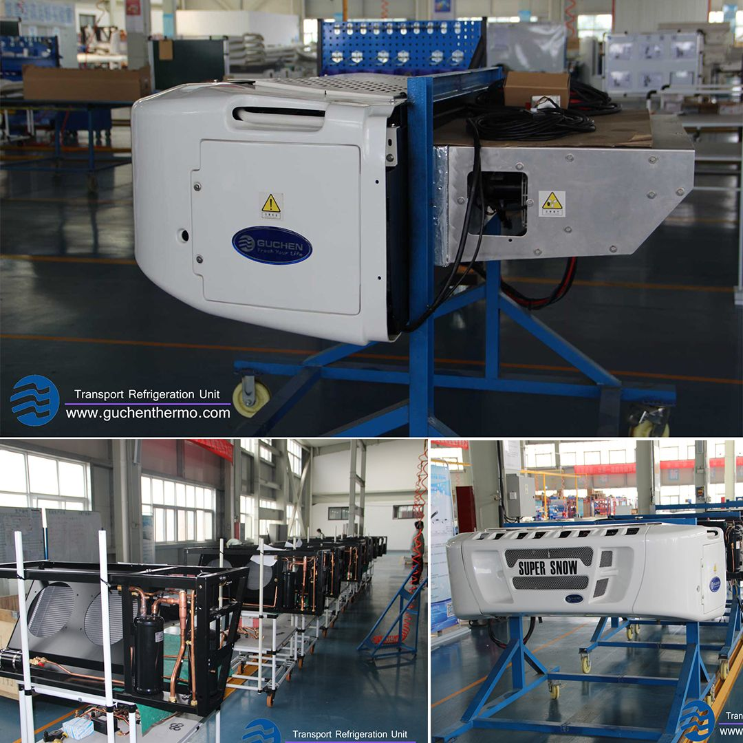 Super Snow transport refrigeration unit is diesel engine