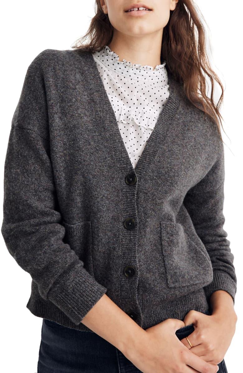 Madewell Arbour Cardigan Sweater (Regular & Plus Size)   Nordstrom 5