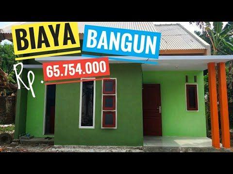Hasil Jadi Bangun Rumah Minimalis Sederhana Di Desa Biaya Rp 65 754 000 Youtube Rumah Minimalis Rumah Membangun Rumah
