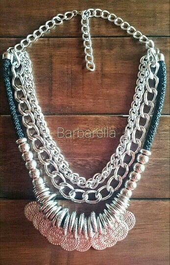 936218e083ca Collar con monedas by Barbarella Bijouterie