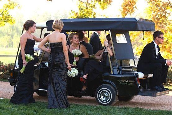 Unique Wedding Transportation Ideas