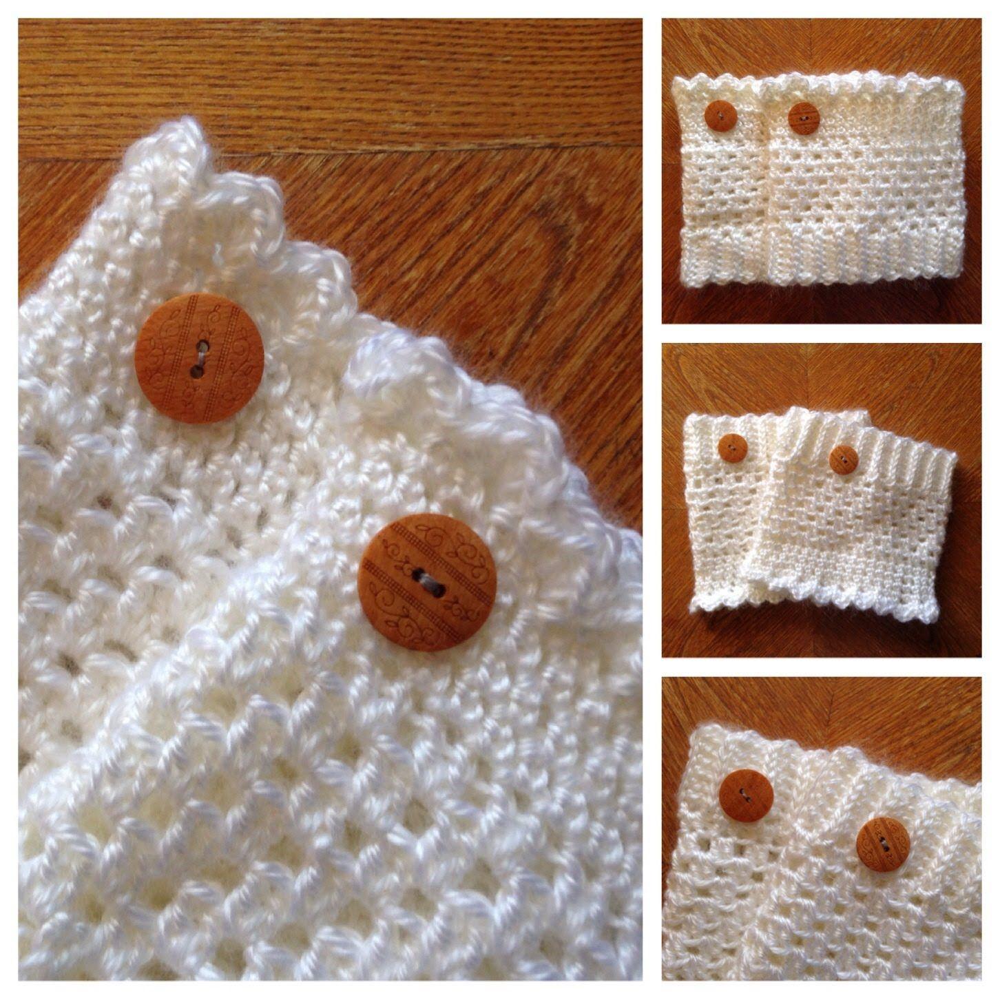 FREE Crochet Reversible Boot Cuff Pattern Part 1 of 3 | Crochet ...