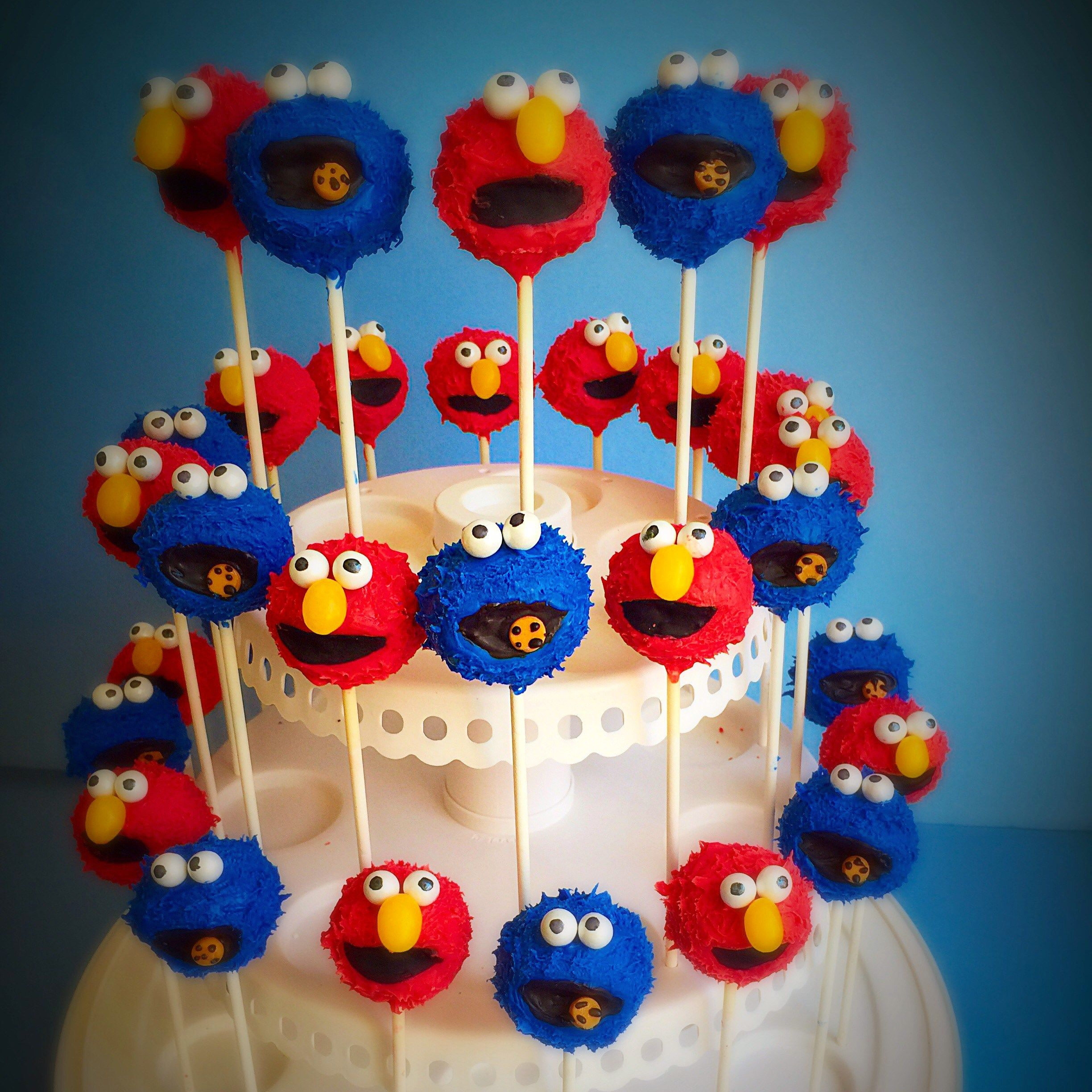 Cartoon Character Cake Pops Triple A Cake Pops