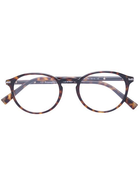 0bf93d4b7f5 ERMENEGILDO ZEGNA Round Frame Glasses.  ermenegildozegna  glasses ...