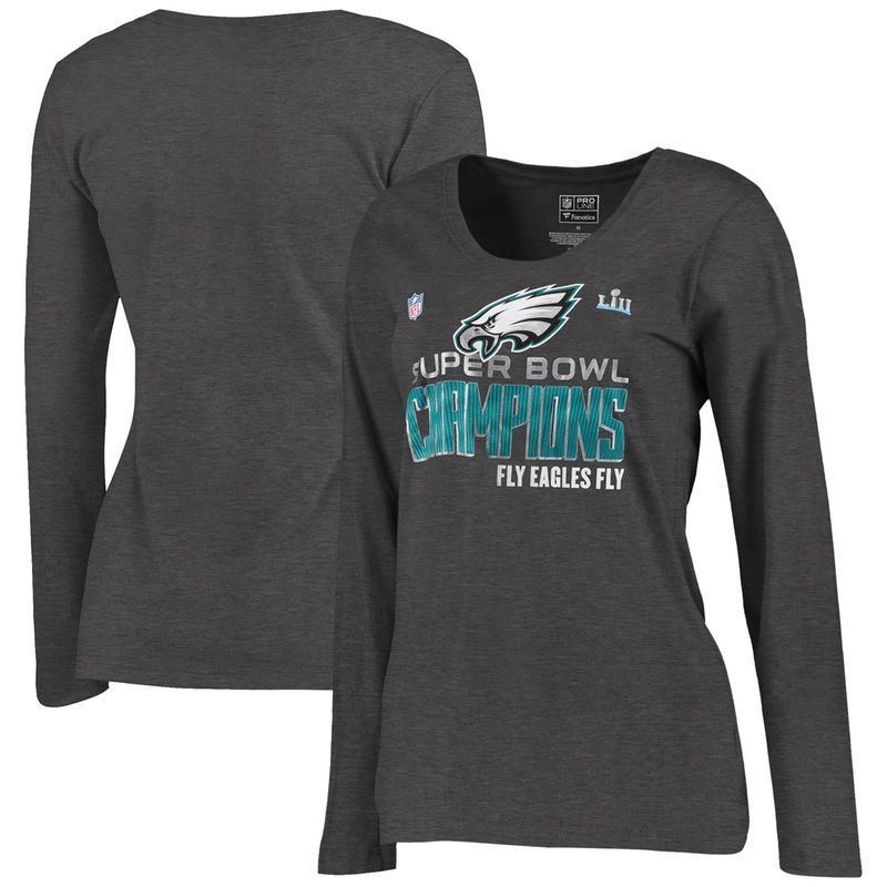 076a7d73 Philadelphia Eagles NFL Pro Line by Fanatics Branded Women's Super ...