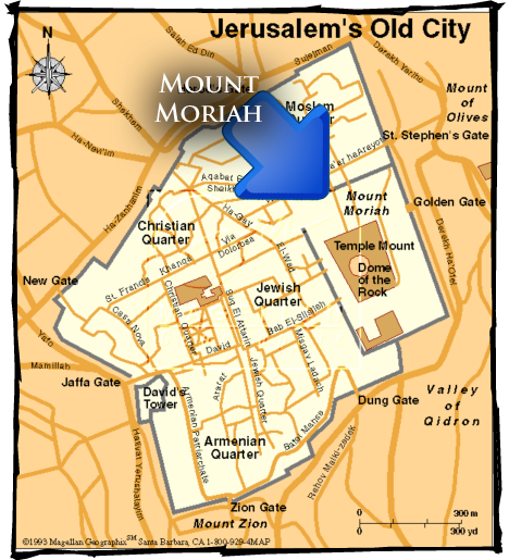 Mount Moriah site of the Temple, north of Mount Zion, the ... on carter notch map, carroll map, mount hermon map, mount ebal map, mount carrigain map, land of moriah map, st. john's map, mount calvary map, mount paran map, mount zion, huntington ravine map, the mount of olives map, monadnock state park trail map, mount shechem map, golgotha map, moriah trail map, mount chocorua map, obion county map, mount marathon map, temple mount map,