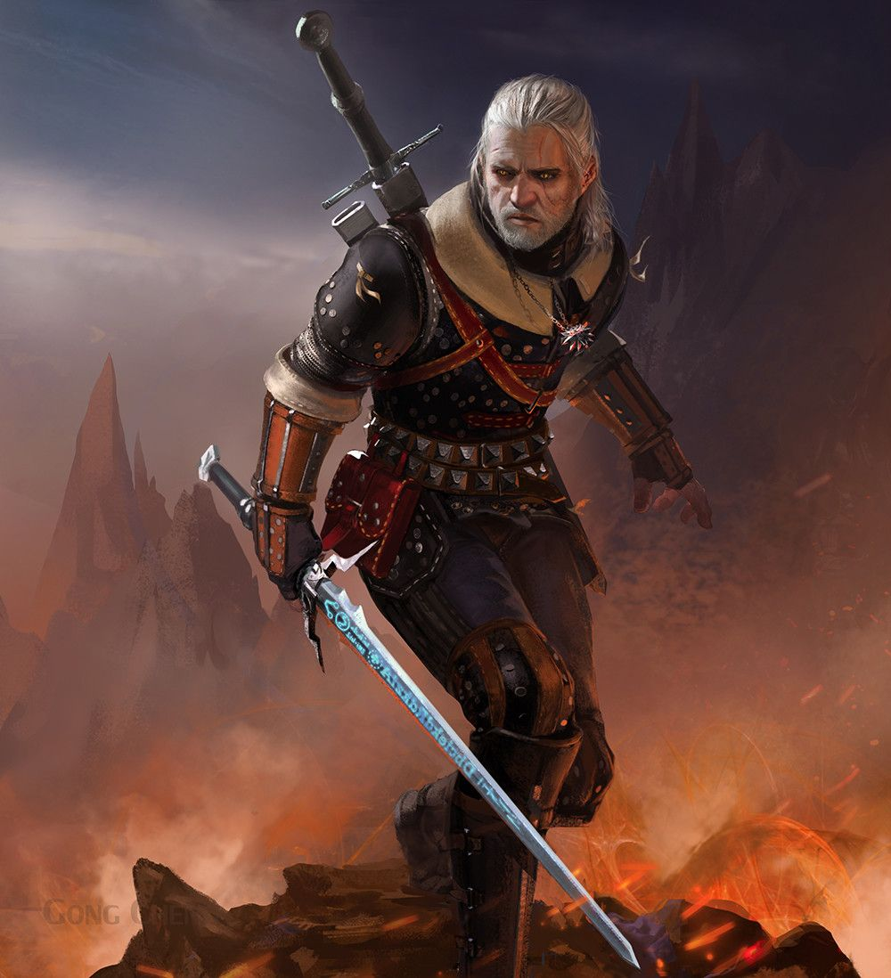 Jawdropping Witcher Digital Art and Illustrations