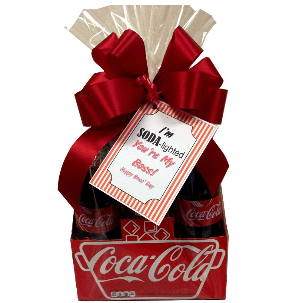 Coca Cola Gifts >> Soda Lighted Coca Cola Gift Basket Christmas Gift