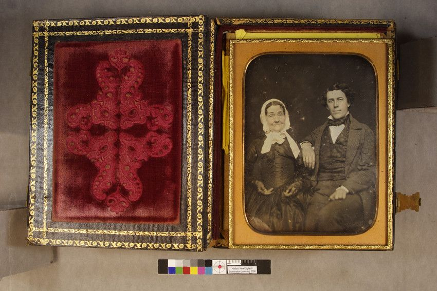 ; Mother and son | Daguerreotypes collection, ca. 1845-1865 (PC005) -- Historic New England