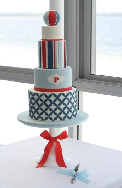 Think this cake would be great for a birthday party or fun event.