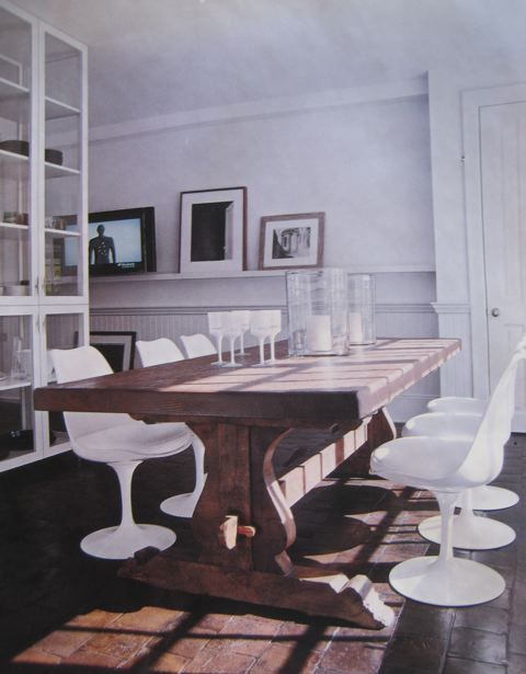 Mixing Modern And Antique Dining Room Inspiration