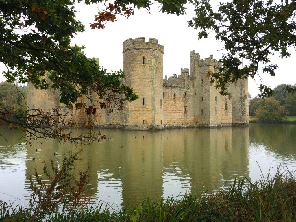Bodiam Castle and a discount for entrance to National Trust properties with a Royal Oak Foundation family membership!