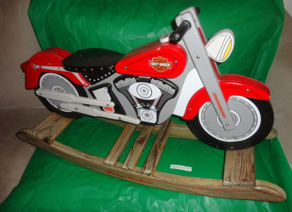 Beau KidKraft Harley Davidson Motorcycle Kid Size Solid Wood Painted Rocking  Chair Find Me At Www.dandeepop.com
