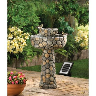 Wishing Well Solar Water Fountain Garden Water Fountains Patio Water Fountain Fountain