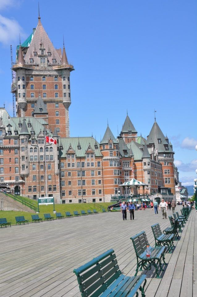 Chateau Frontenac Old Quebec City Canada Quebec City Canada Canada Travel Travel Around The World